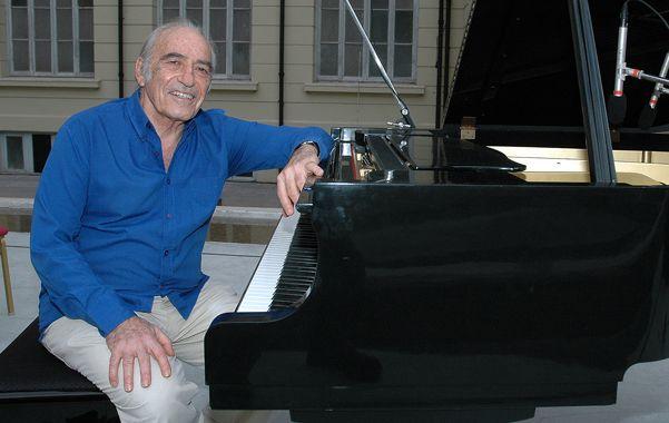 El pianista habló de su pasado en el exilio