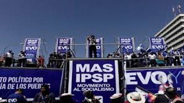 El MAS lidera con un 31,6 por ciento de intención de voto