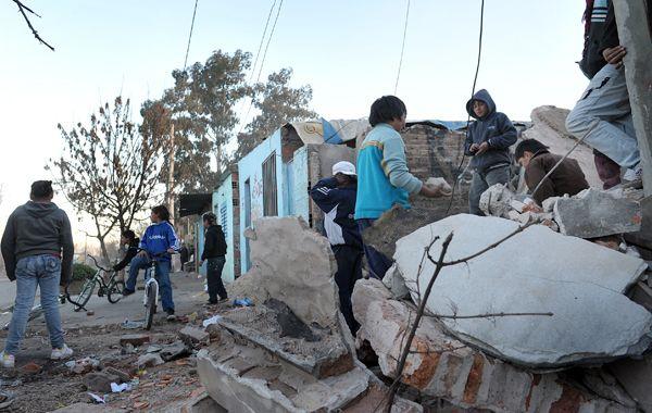Ayer fue demolido un búnker de droga en Perú al 3700.