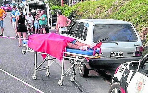 El cadáver de Jonathan Villegas