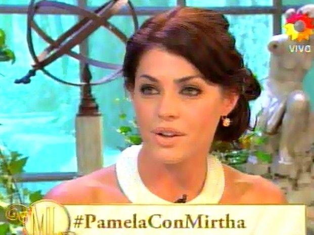 Pamela dijo que no se siente la dueña del canal América.
