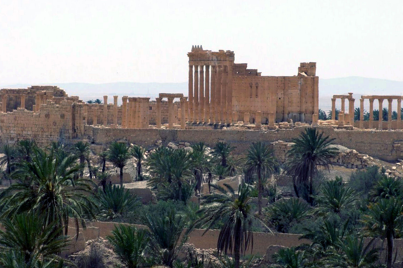 Patrimonio cultural. El EI ha aumentado su control territorial con la captura de Palmira