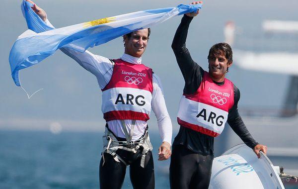 Juan De la Fuente y Lucas Calabrese lograron su objetivo y consiguieron la segunda medalla para Argentina.