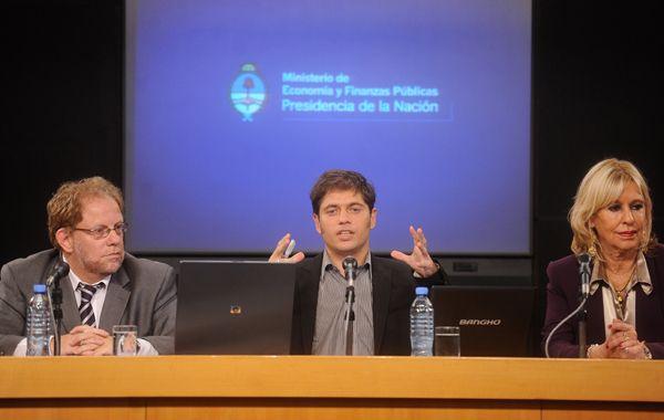 La presentación estuvo a cargo del ministro de Economía