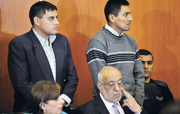 Acusados. Santos Clemente Vera (izquierda) y Daniel Vilte