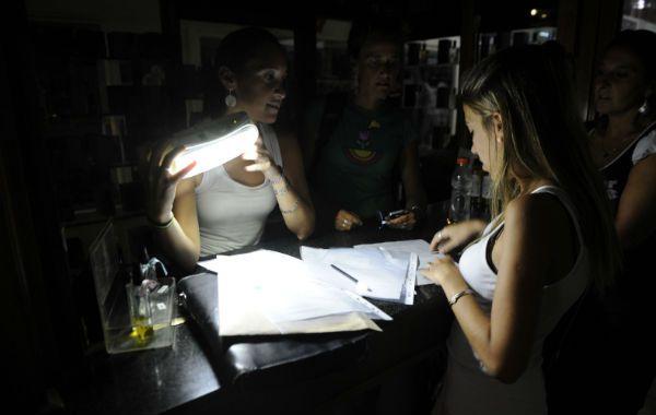 Muchos usuarios se vieron afectados por el corte de luz.