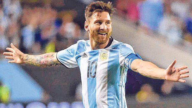 La mejor sonrisa. Leo tomará la nueva etapa en la selección como una bocanada de oxígeno en su contrapunto con Barcelona.