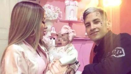 Hace poco más de un mes, L-Gante y Tamara presentaron a su hija en sociedad.