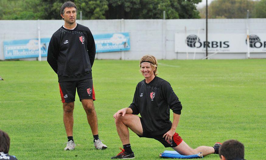 Diego Mateo jugó lesionado ante Boca y ahora tendrá cuatro semanas de recuperación.