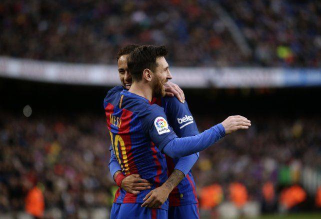El video del golazo de Messi de tiro libre para el triunfo de Barcelona ante Athletic Bilbao