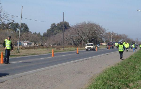 La agencia de seguridad vial desvía el tránsito sobre la ruta 18.