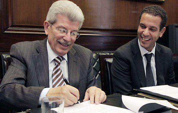 Documento. Fábrega publicó los ejes de su gestión en el Central en 2014.