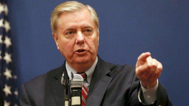 El senador republicano Lindsey Graham.