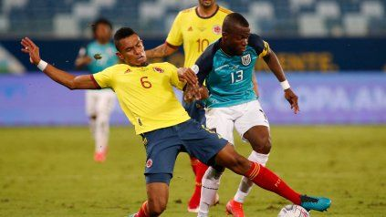 Colombia derrotó a Ecuador con gol de Cardona en su arranque de Copa América