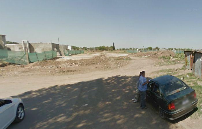 El cuerpo sin vida fue hallado en la zona de Garzón y Dr. Riva.