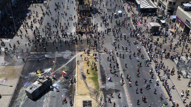 La CIDH condenó el uso excesivo de la fuerza contra las protestas en Chile