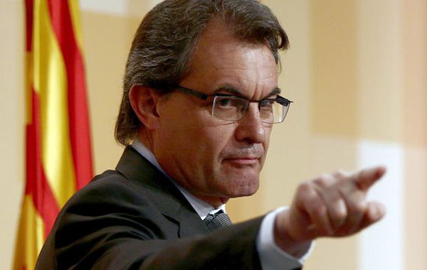 Artur Mas desafía al gobierno español.