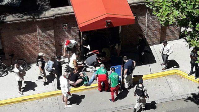 Puerto Madero. El turista británico Matthew Gibbard fue asesinado el sábado en un asalto frente al Hotel Faena.