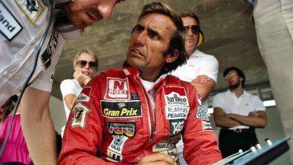 La escudería Ferrari saludó al Lole Reutemann por su cumpleaños número 79
