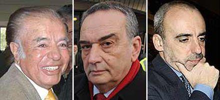Amia: Menem, Galeano y Anzorreguy fueron procesados por encubrimiento