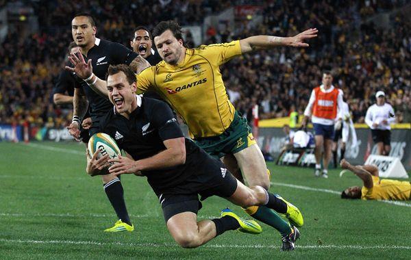 Los All Blacks se alzaron con un triunfo contundente ante el seleccionado de Australia.