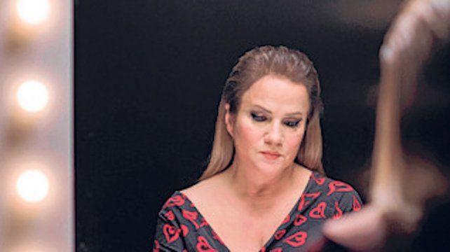 líder. La cantante Lucía Galán.