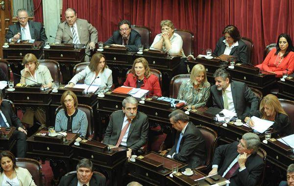 El Senado aprobó por 39 votos a 21 la lista propuesta por el PEN.