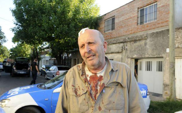 Bronca. Luis Brichi dijo que está cansado y que lo robaron 8 veces en 4 años. (Foto: G. de los Rios)