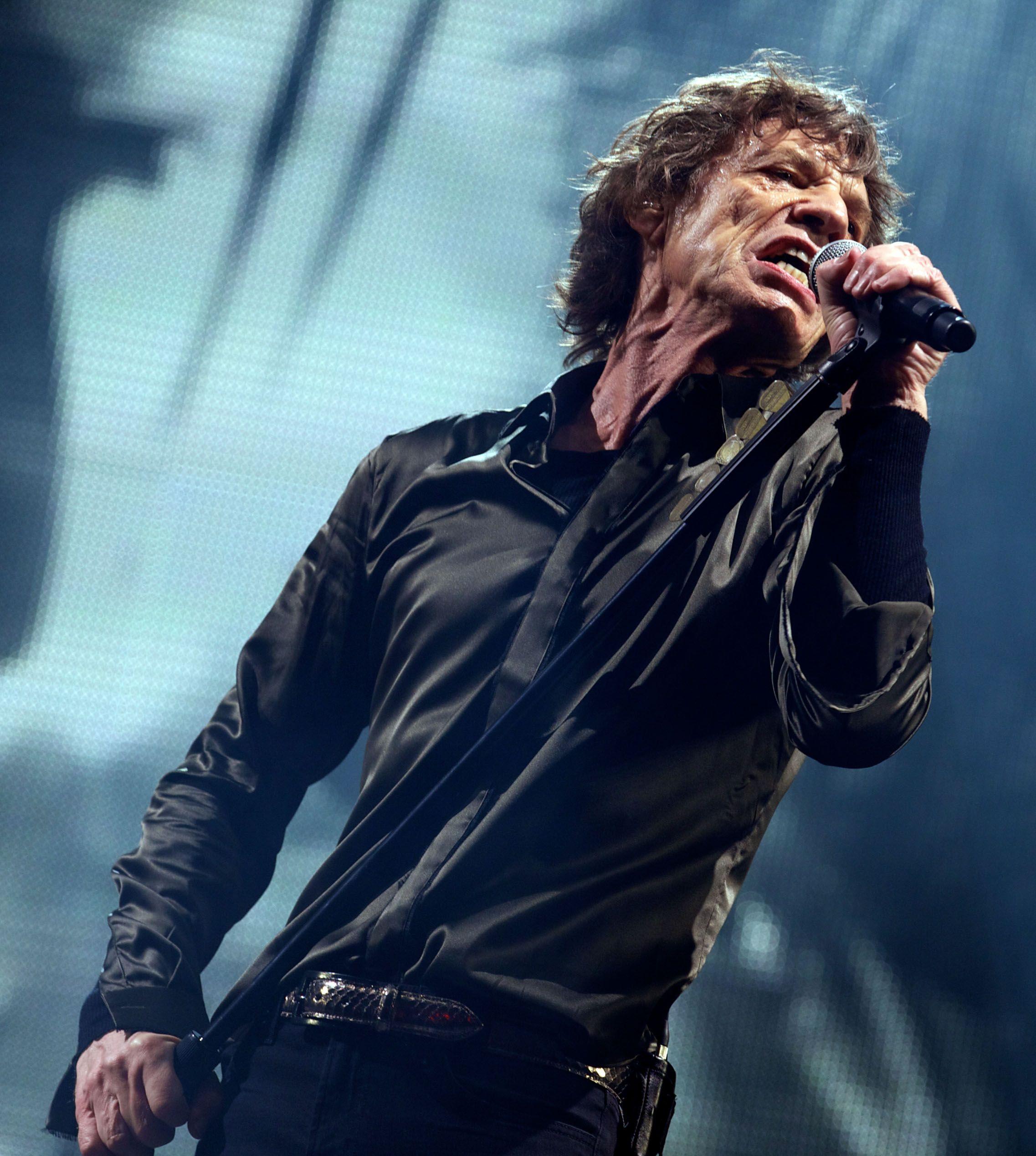 Mick Jagger se convirtió en bisabuelo pero no le gusta ser viejo