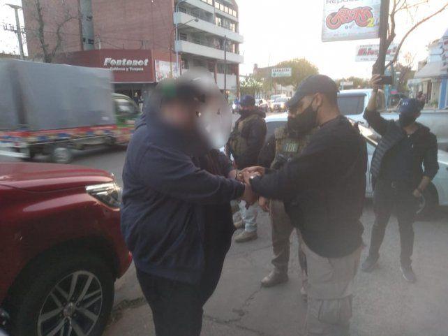 La detención de David Perona