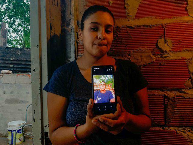 Alejandro Román en una foto que Aylen