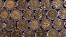 Las monedas de $ 1 que se acuñaron en el 95 en Inglaterra hoy llegaron a cotizarse en cifras siderales en las plataformas on line. Ahora, especialistas en numismática afirman que no tienen ningún valor.
