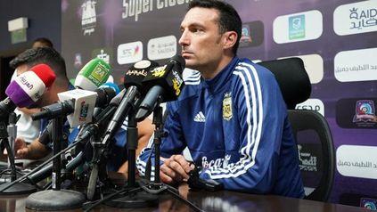 Lionel Scaloni, el entrenador del seleccionado argentino de fútbol.