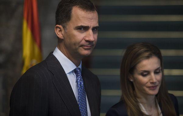Primer acto. Felipe y Letizia como reyes tuvieron su primera actividad oficial: recibir a las víctimas de ETA.