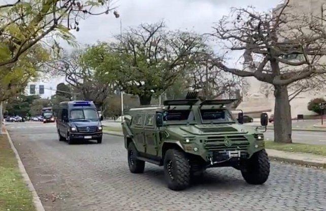 Llegaron las fuerzas federales para hacer operativos de saturación en la ciudad