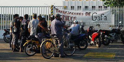 Se agudiza el conflicto en Gafa por el despido de otros 20 trabajadores