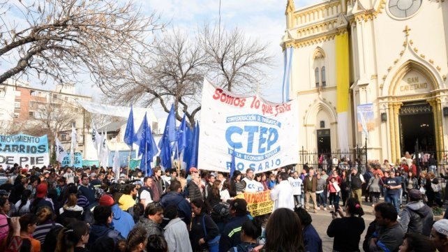 Las organizaciones sociales vuelven a las marchas presenciales el día de San Cayetano.