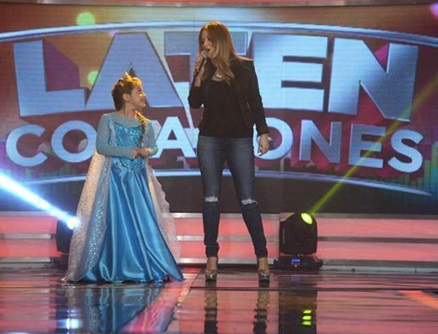 La Princesita y su hija Sol