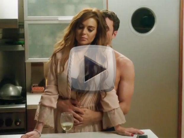 La faceta erótica de Lindsay Lohan en el trailer de su nuevo film