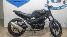 Secuestraron una moto robada que estaba a la venta