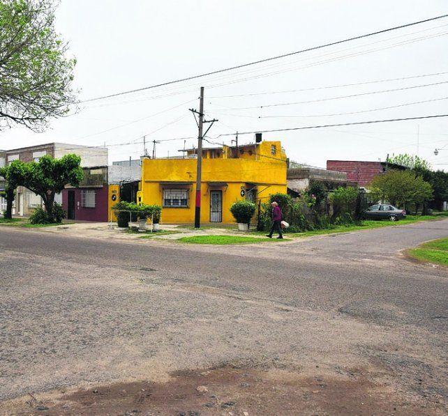 el lugar. La esquina donde anteanoche fue atacado Gerardo Japo L.