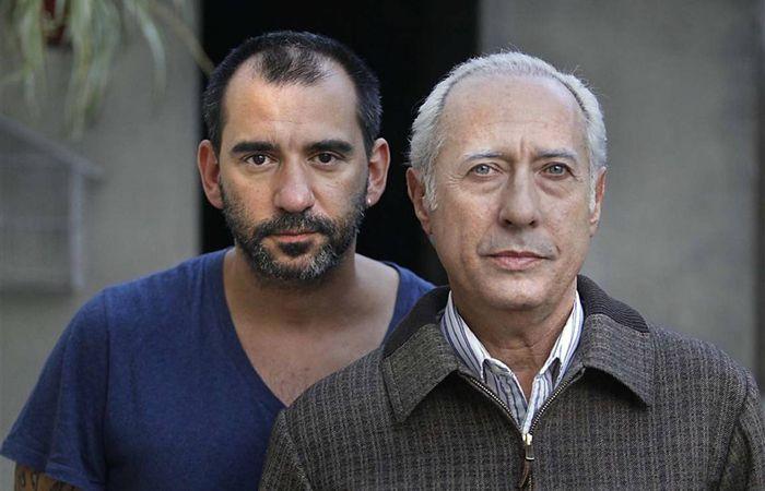 El director Pablo Trapero junto al actor Guillermo Francella.
