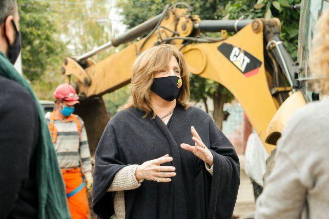 Hay volumen y buen ritmo de obra pública en Rosario, dijo la ministra Silvina Frana
