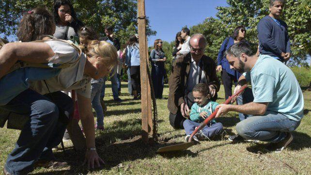 Hoy se realizará la plantación de árboles el Parque Scalabrini Ortiz.