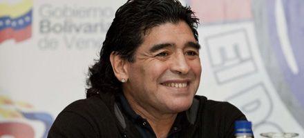 Maradona bajó tres kilos con su misteriosa dieta en un spa italiano