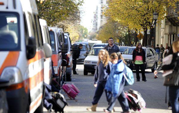 Reacción. El municipio destacó la adhesión de los automovilistas a la medida. (foto: Silvina Salinas)