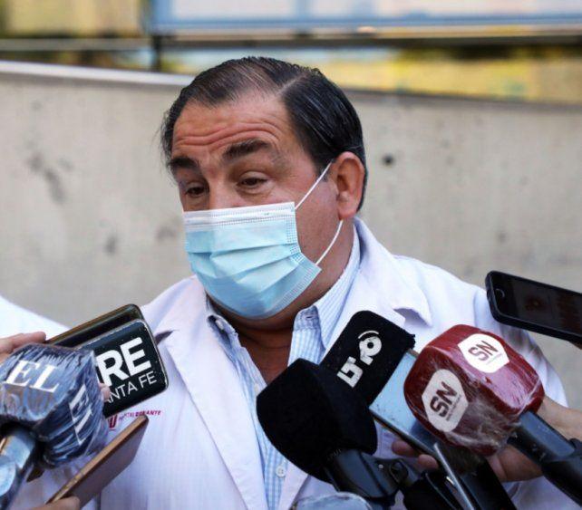 """Aníbal Gastaldi: """"Observamos que esto detuvo el proceso de la enfermedad"""