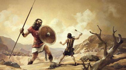 ¿David o Goliat?