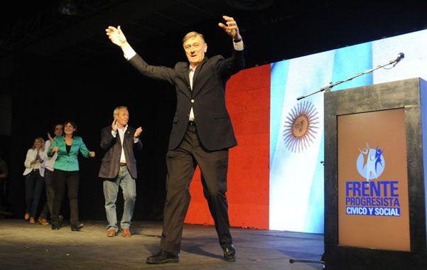 A la cancha. Binner será el candidato socialista en las Paso del FAU.