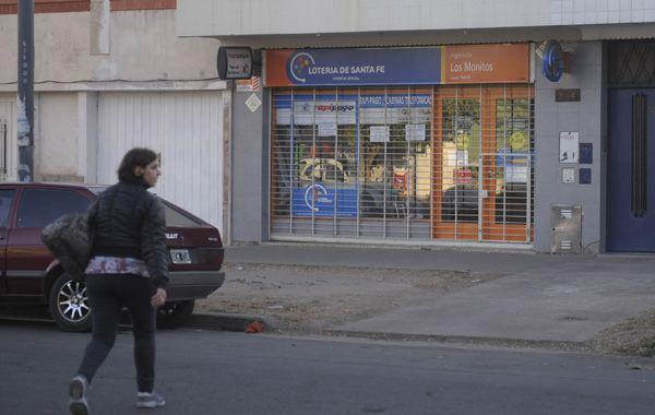 La agencia de lotería Los Monitos